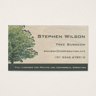 Tree business cards business card printing zazzle uk tree surgeon business card colourmoves