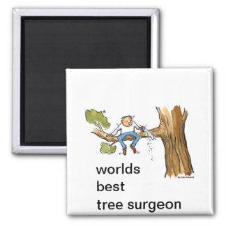 tree surgeon magnet
