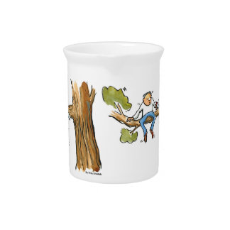 Tree surgeon pitcher