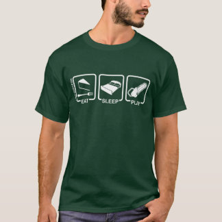 Tree Surgeon T-Shirt Eat Sleep Play