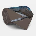 Tree Swallow: Bird on a Wire Tie