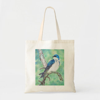 Tree Swallow Budget Tote Bag