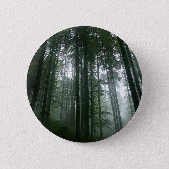 Tree Tall Pines 6 Cm Round Badge