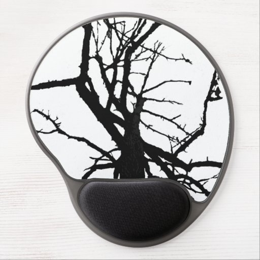 Tree Top Abstract Gel Mouse Mat