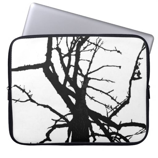 Tree Top Abstract Laptop Sleeve