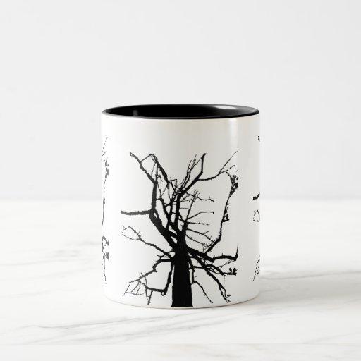 Tree Top Abstract Coffee Mug