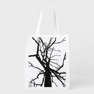 Tree Top Abstract Market Totes