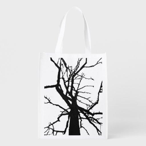 Tree Top Abstract Market Totes
