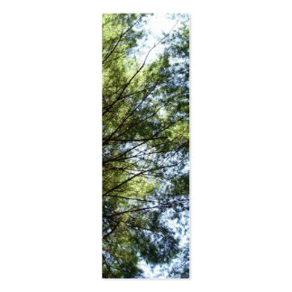 Tree Top View Bookmark Pack Of Skinny Business Cards