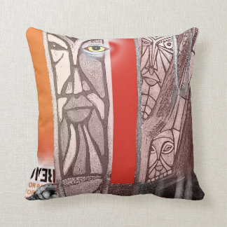 tree totems throw cushions