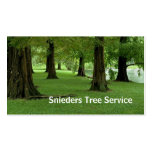 Tree Trimmer Service Business Card Templates