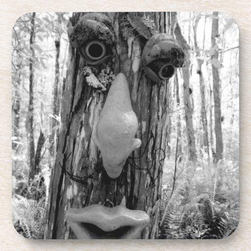 Tree troll on a Big Cypress tree. Drink Coaster