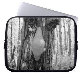 Tree troll on a Big Cypress tree. Laptop Sleeve
