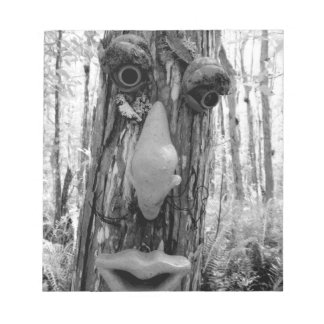 Tree troll on a Big Cypress tree. Notepad
