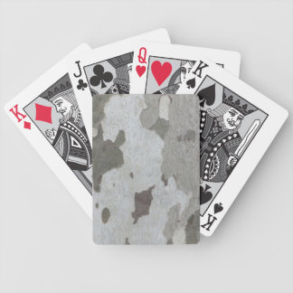 Tree Trunk custom playing cards