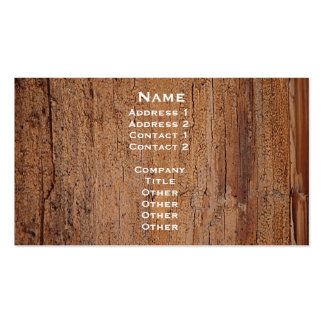 Tree Trunk Image Card Business Card Templates
