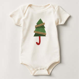 Tree Umbrella Organic Babygro Baby Bodysuit