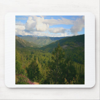 Tree Valley Of Green Mouse Pads
