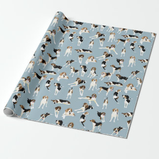 Tree Walker Coonhound Wrapping paper