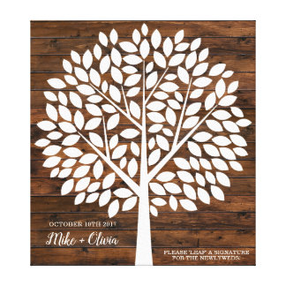 Tree Wedding Guest Book Alternative | 120 Leaves