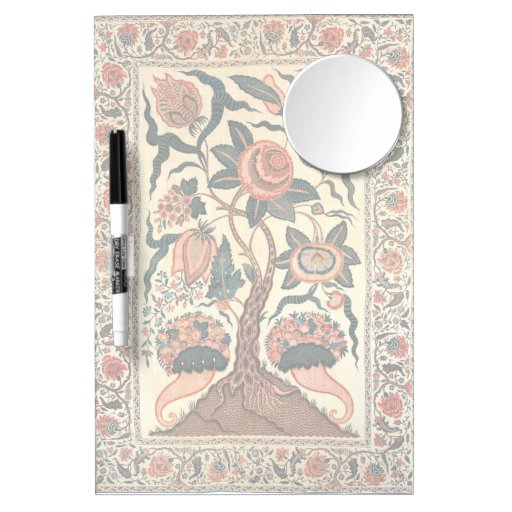 Tree with Flowers and Horns of Plenty, India 1750 Dry-Erase Whiteboard