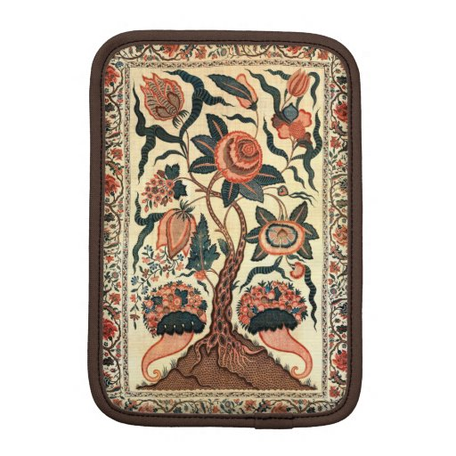 Tree with Flowers and Horns of Plenty, India 1750 Sleeve For iPad Mini