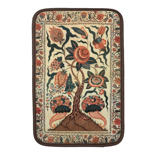 Tree with Flowers and Horns of Plenty, India 1750 MacBook Air Sleeves