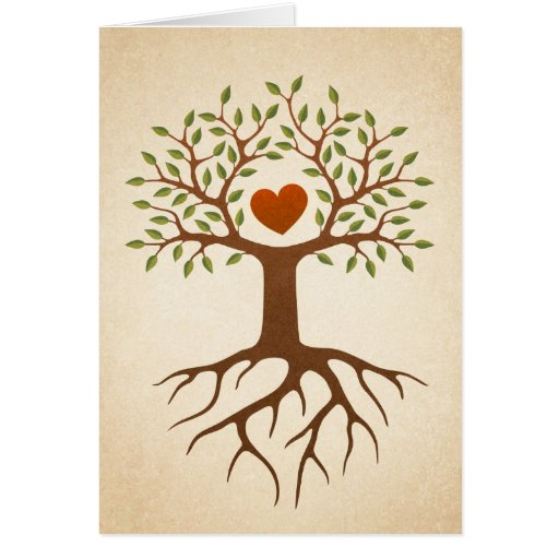 Family reunion invitation featuring a tree with deep roots and ...