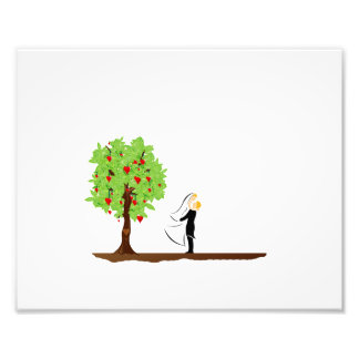 tree with heart fruit and married couple.png photograph