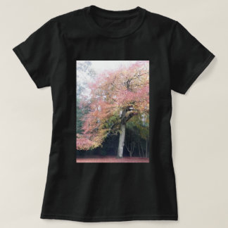 Tree with pink leaves pretty colours T-Shirt