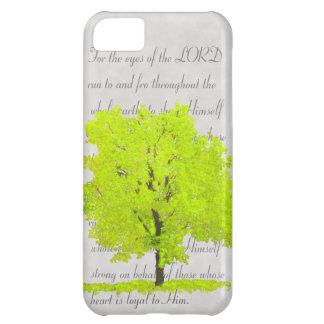 Tree with verse iPhone 5C case