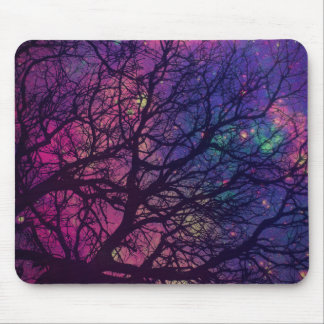 Tree x Space Mouse Pad