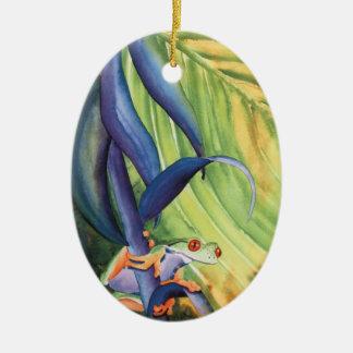 Treefrog Christmas Ornament