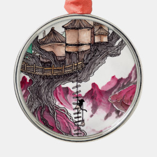 Treehouse Christmas Ornament