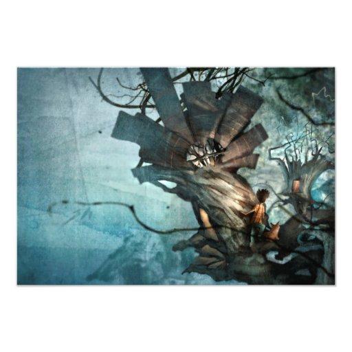 Treehouse Commences Photo Print