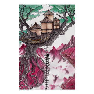 Treehouse Poster