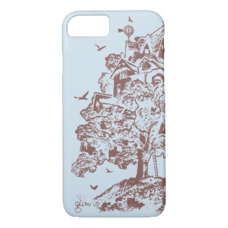 Treehouse Village iPhone 8/7 Case