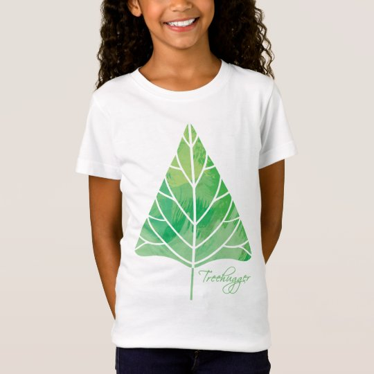 Treehugger Girls Baby Doll (Fitted) T-Shirt