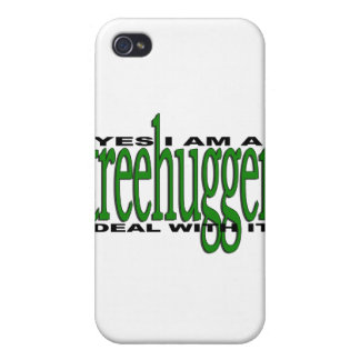 Treehugger Pride iPhone 4 Cover