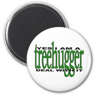 Treehugger Pride Magnet