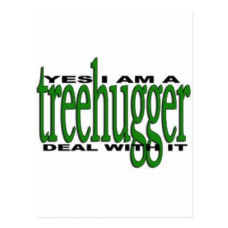 Treehugger Pride Post Card
