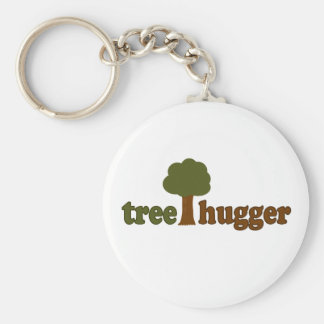 Treehugger (Tree) Key Ring