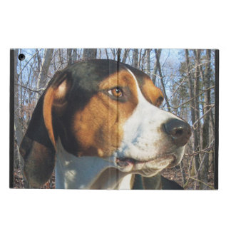 Treeing Walker Coonhound In Woods iPad Air Case