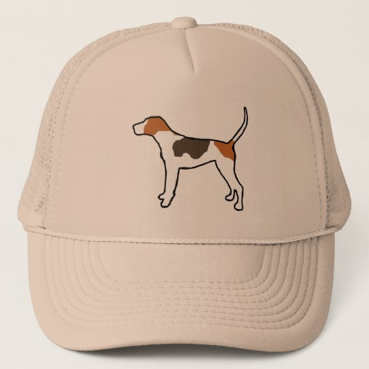 treeing walker coonhound silo colour.png trucker hat
