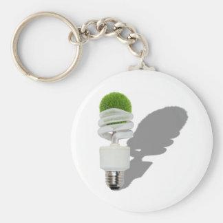 TreeLightResource062270Shadows Basic Round Button Key Ring