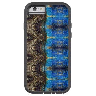 Treemo Gear Blue Bark Colorful Camo Tough Case