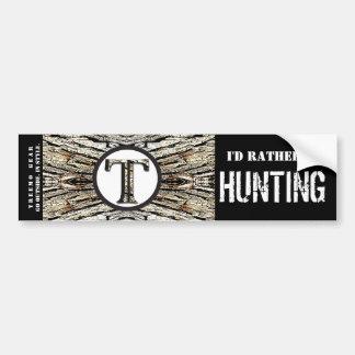 Treemo Gear Camo Personalised Bumper Sticker- Hunt Bumper Sticker