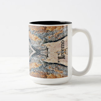 Treemo Gear Diamonds & Rust Camo Pattern Mug