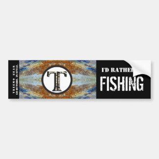 Treemo Nature Personalized Bumper Sticker- Fish Bumper Sticker
