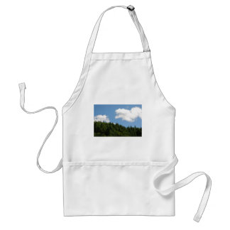 Trees and blue sky aprons